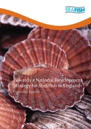 Towards a National Development Strategy for Shellfish in England