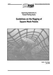 Guidelines on the Rigging of Square-Mesh Panels - Seafish