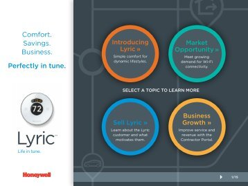 Honeywell Lyric Overview Brochure
