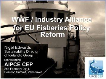 Nigel Edwards presentation - Seafood Choices Alliance