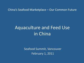 Roz Naylor presentation - Seafood Choices Alliance