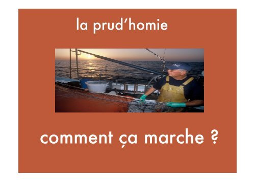 les prud'homies - Seafood Choices Alliance