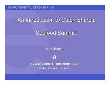 Kate Bonzon - Seafood Choices Alliance