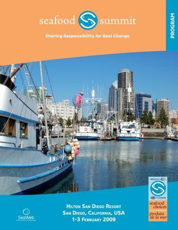 Full Program - seafood summit - Seafood Choices Alliance