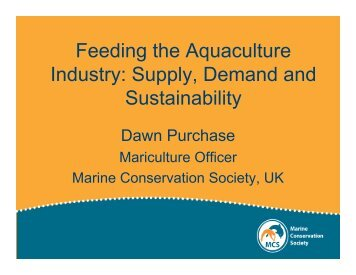 Dawn Purchase - Seafood Choices Alliance
