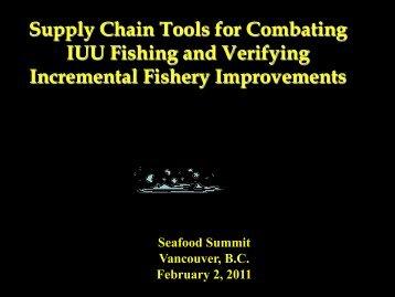 Howard Johnson presentation - Seafood Choices Alliance