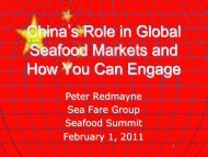Chinas Role in Global Seafood Markets and How You Can Engage