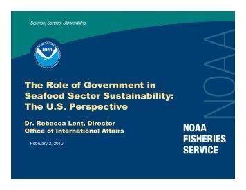 Rebecca Lent - Seafood Choices Alliance
