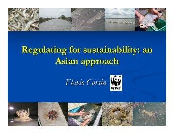 Flavio Corsin - Seafood Choices Alliance