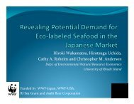 Cathy Roheim - Seafood Choices Alliance