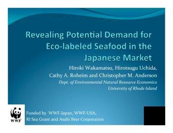 Cathy Roheim - Seafood Choices Alliance