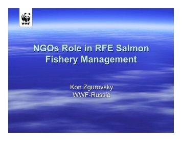 Kon Zgurovsky - Seafood Choices Alliance
