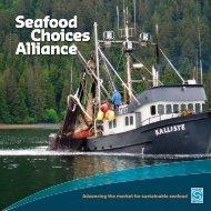 Alliance Brochure - Seafood Choices Alliance
