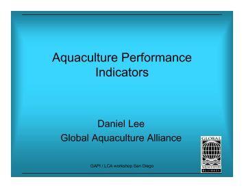 Daniel Lee - Seafood Choices Alliance