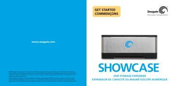 SHOWCASE™ - Seagate