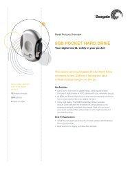 8GB PocKeT HArD Drive - Seagate