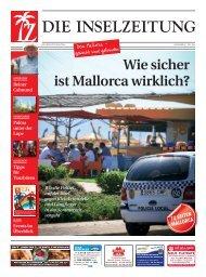 Die Inselzeitung Mallorca Juli 2014