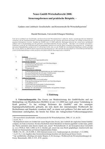 Steuerungsformen und praktische Beispiele. - Nwir.de