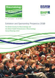 Exhibition and Sponsorship Prospectus 2010 - The British Society ...