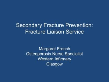 Fracture Liaison Service - The British Society for Rheumatology