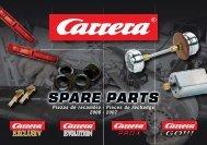Carrera Spare Parts Brochure 2006/2007