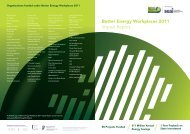 Better Energy Workplaces 2011 Impact Report - the Sustainable ...
