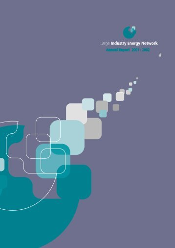 LIEN Annual Report 2001 - 2002 - the Sustainable Energy Authority ...