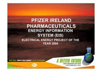PFIZER IRELAND PHARMACEUTICALS