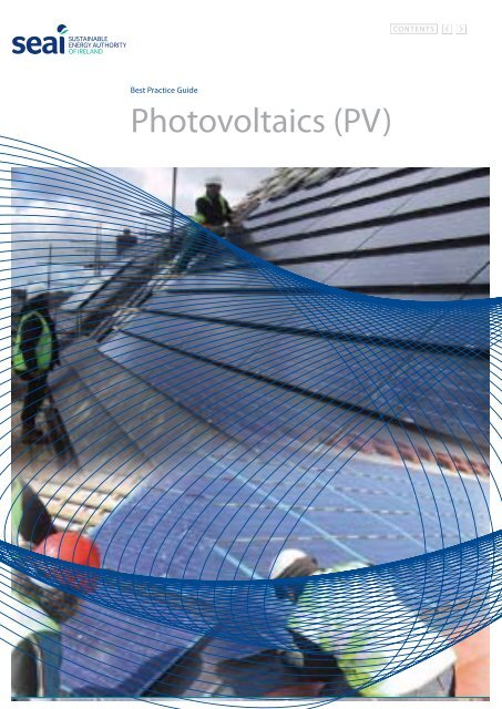 Best Practice Guide - Photovoltaics (PV) - the Sustainable Energy ...