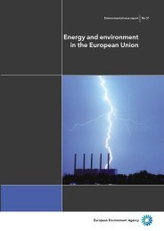 Energy and environment in the European Union - the Sustainable ...