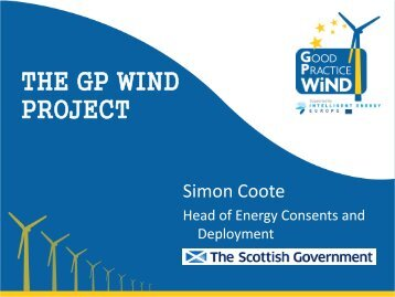 THE GP WIND PROJECT - the Sustainable Energy Authority of Ireland