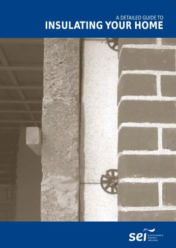 Insulating your home Cover - the Sustainable Energy Authority of ...