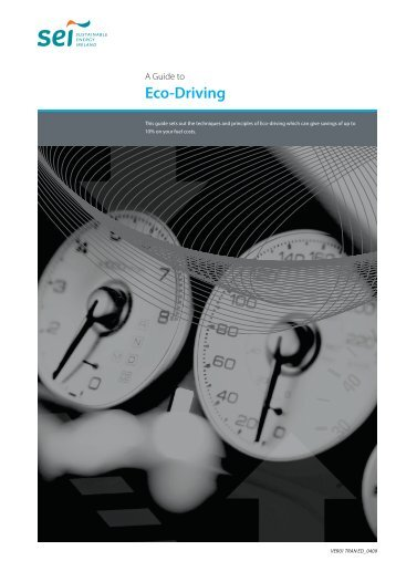 Eco Driving Guide - Letterkenny Chamber of Commerce