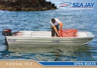 to Download the Latest Open Boats Brochure - Sea Jay Aluminium ...