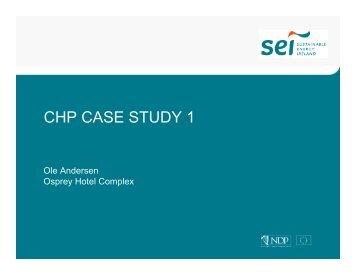 CHP CASE STUDY 1