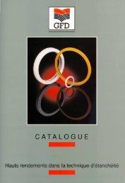 CATALOGU E - GFD - Gesellschaft für Dichtungstechnik mbH