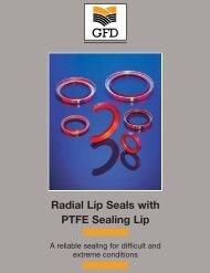 Radial Lip Seals with PTFE Sealing Lip - GFD - Gesellschaft für ...