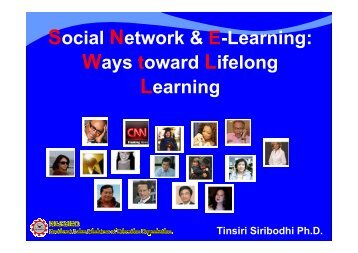 Social Network and E-Learning