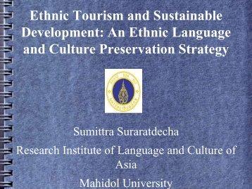 Minyak Cultural Preservation Program
