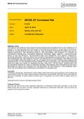 MC52i AT Command Set - Page 2