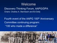 Discovery Thinking Forum Introduction - Search and Discovery