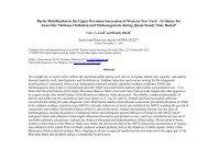 Barite Mobilization in the Upper Devonian Succession of Western ...