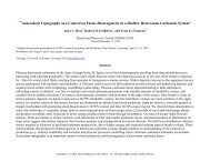 Antecedent Topography as a Control on Facies Heterogeneity in a ...