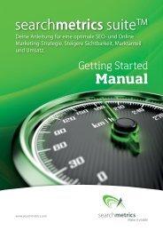 Jetzt Suite Getting-Started-Broschüre herunterladen - Searchmetrics