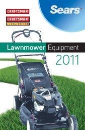 Lawnmower Equipment - Sears Canada