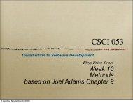 week 10 lecture (pdf) - SEAS