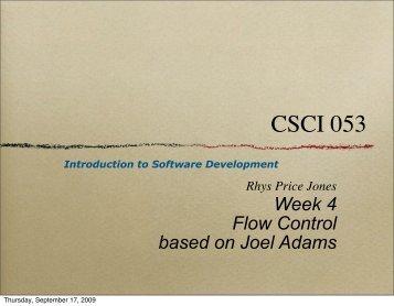 week 4 lecture (pdf) - SEAS