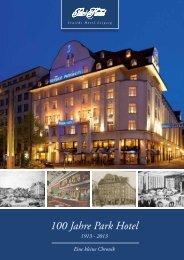 100 Jahre Parkhotel - Seaside Hotels