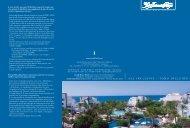 ALL INCLUSIVE – TODO INCLUIDO - Seaside Hotels