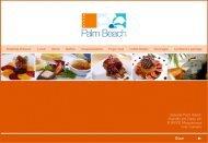 Hotel Palm Beach Banquet Kit - Seaside Hotels